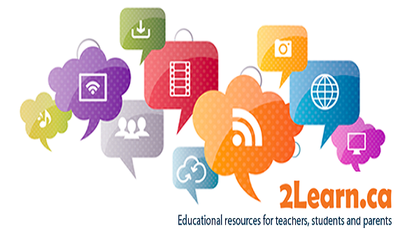 Find great resources at 2Learn.ca